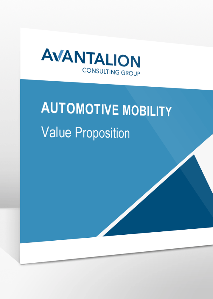 Value Proposition Automotive Mobility