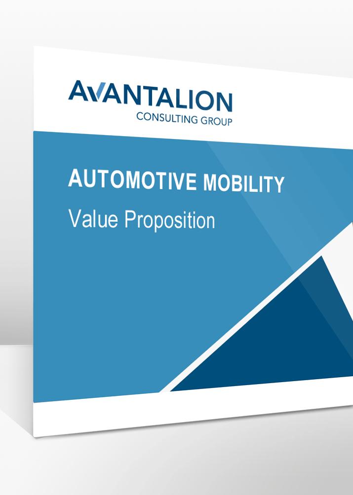 Unser Produktportfolio der Branche Automotive Mobility.