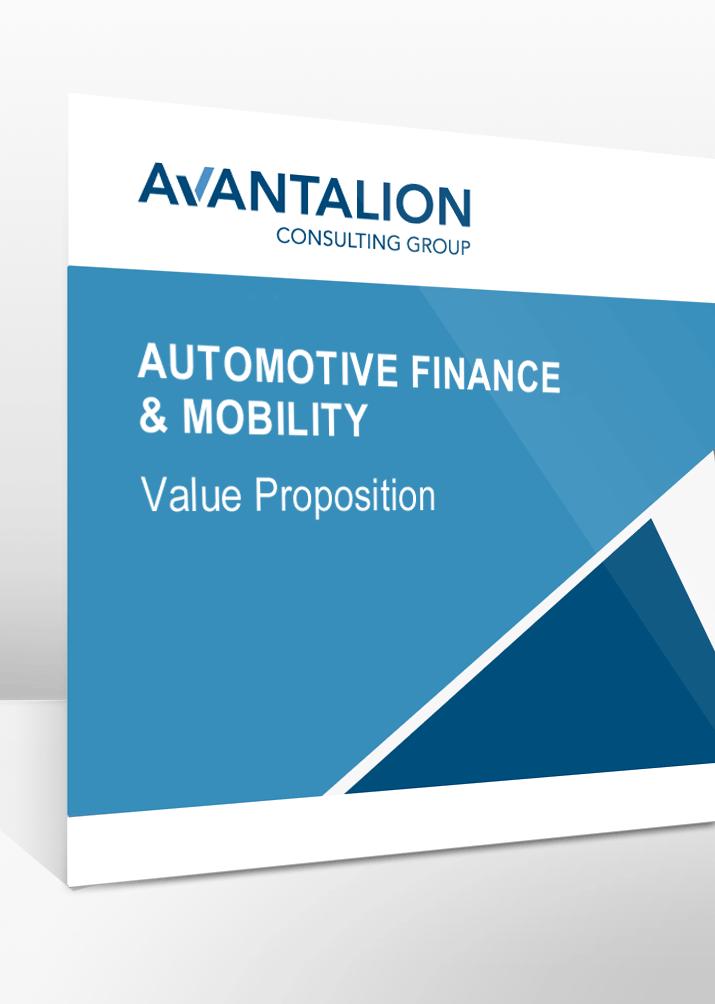 Unsere Dienstleistungen im Bereich Automotive Finance und Mobility